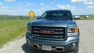 The 2014 GMC Sierra has several features that enhance safety and efficiency while towing trailers, which is something 60% of pickup owners do, according to the company's customer surveys.