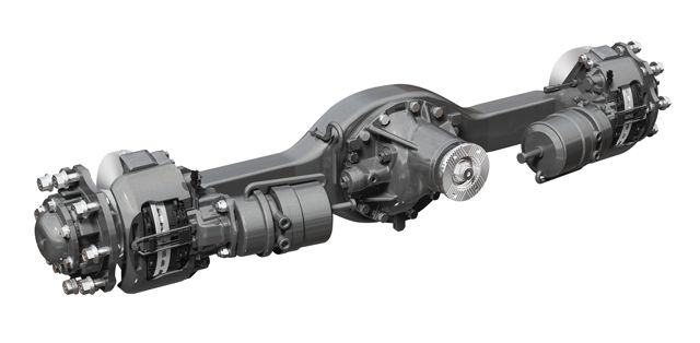 The Dana Spicer S110 axle is available on the International TerraStar 4x4.