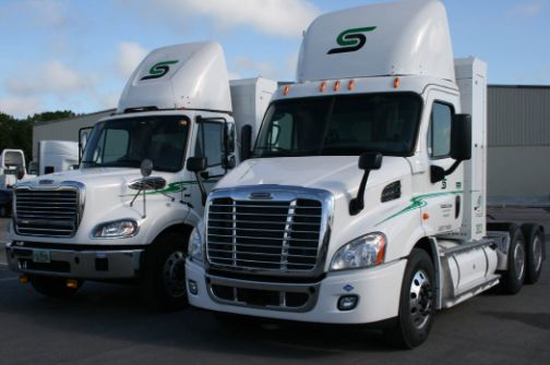 Saddle Creek is now running more than 100 natural gas Freightliners.