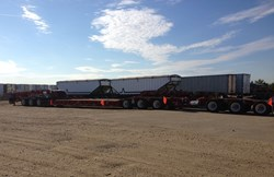 Trailer Wizards is now offering this 13-axle trailer for rent or lease.