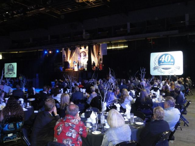 About 400 people attended a gala dinner hosted by Tallman Truck Centres, which was celebrating 40 years in business.