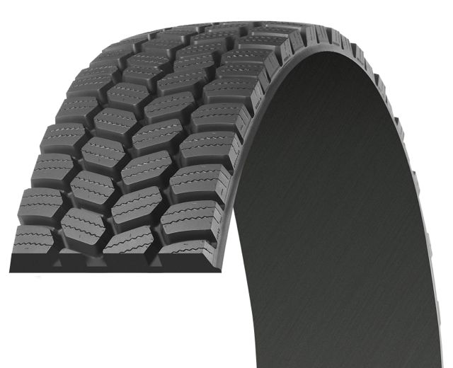 The Michelin XDS 2 Pre-Mold offers a 10% improvement in tread life over its predecessor, the XDS Pre-Mold, Michelin claims.