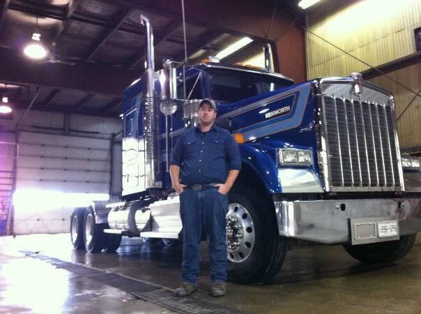Marshall McCartney died in a recent accident. His friends assembled a 27-truck convoy in his honour.