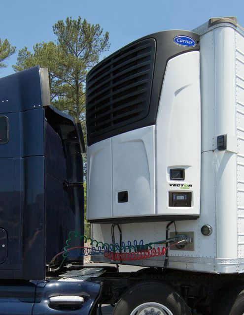 The Carrier Transicold Vector 8500 weighs less, and produces more cooling power than its predecessor, the company says.