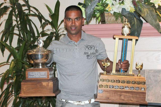 Ontario champ Rennie Barran from Speedy Transport.
