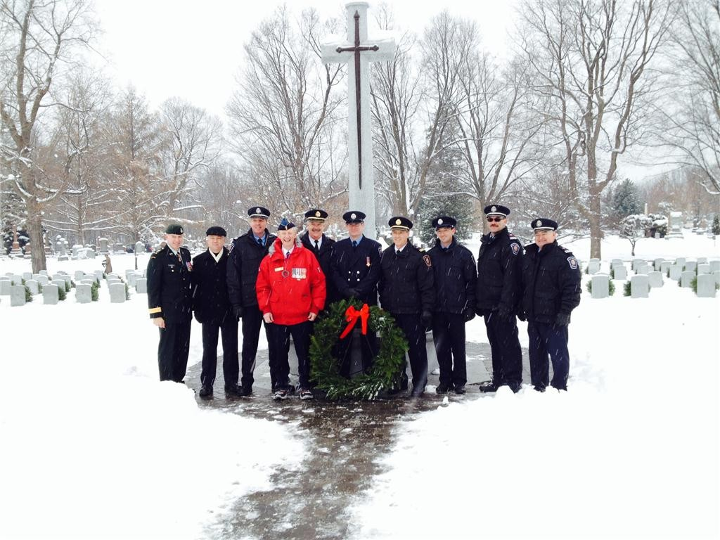 Wreaths Across Canada looks to pay respects to Canadian veterans.