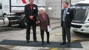 McCallion talks about the importance of the trucking industry.