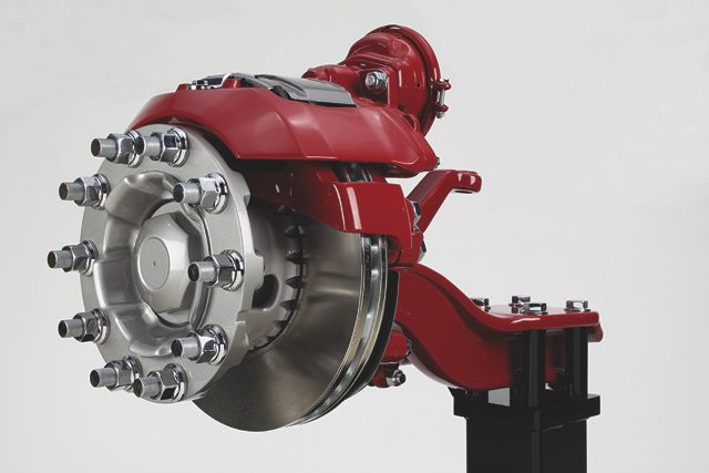 Mack is now offering Meritor's EX+ air disc brakes on its vocational truck models.