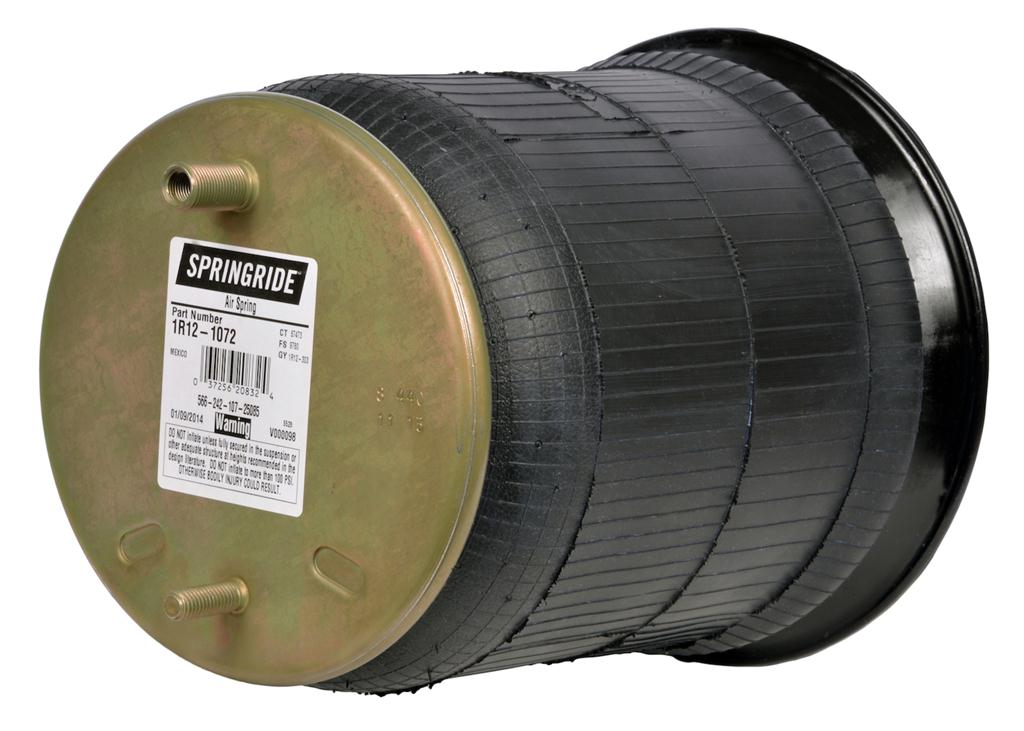 The Springride line is made by the same company that produces Goodyear's Superior Cushion springs.