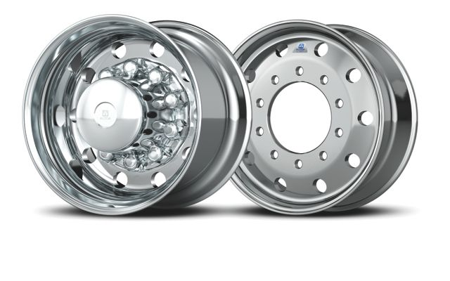 Alcoa has come out with new, lighter-weight 9- and 14-inch aluminum wheels.