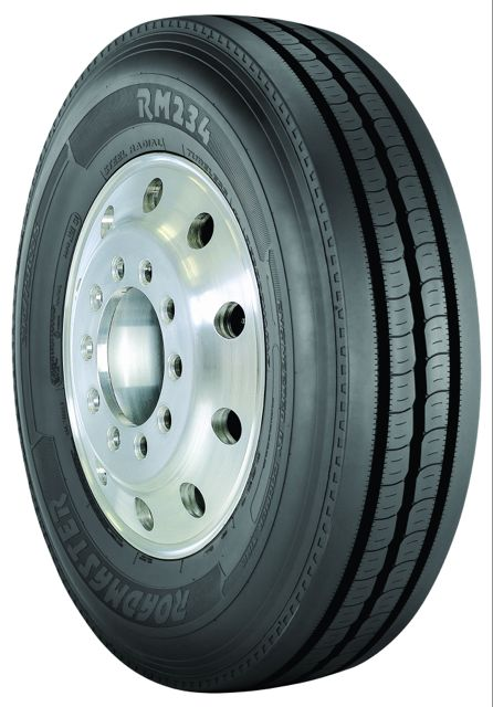 Roadmaster's RM234 tire is now available in the North American market.