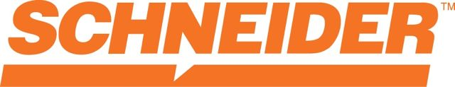 The new Schneider logo.
