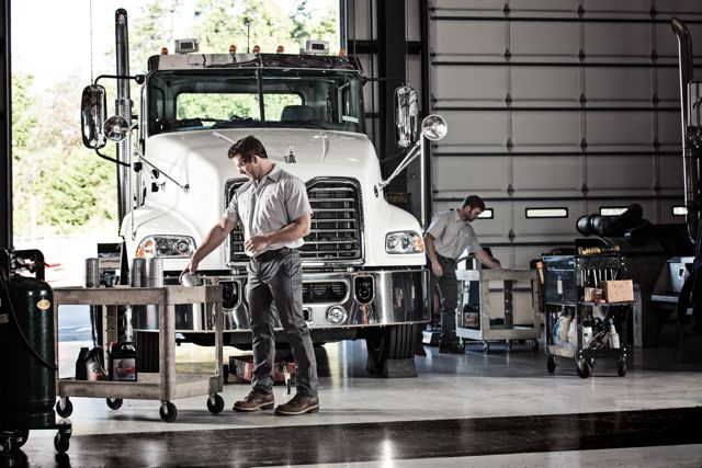 Mack says a focus on maximizing uptime will help it grow its on-highway business.
