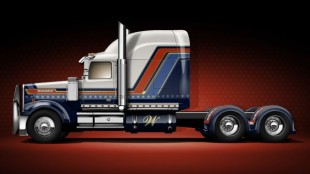 This 4900 EX show truck was designed by Western Star fans via social media.