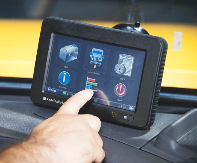 Rand McNally's TND 760 has a new mapping and HoS update available.