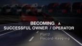 Becoming a Successful Owner/Operator Part 2