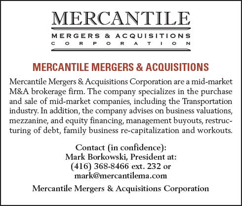Mercantile Mergers & Acquisitions