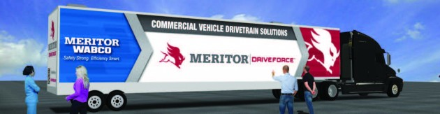 The Meritor DriveForce tour is now underway.