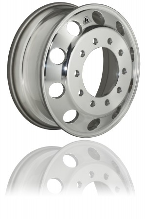 Accuride's new Accu-Flange wheel treatment protects against rim flange wear.