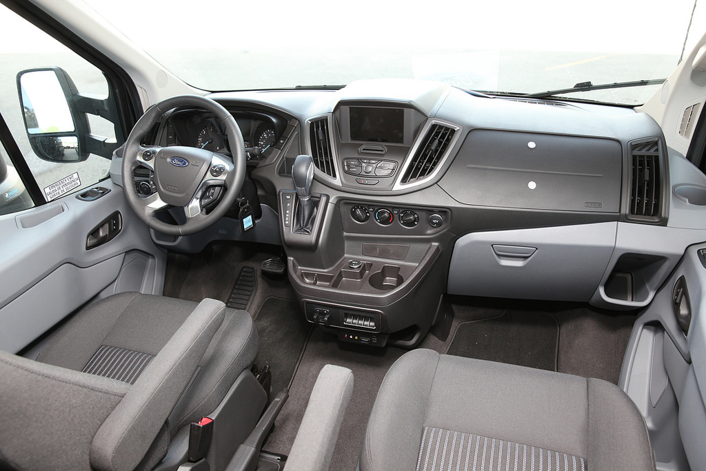 Attractive The New Ford Transit Cargo Van. Transit Interior