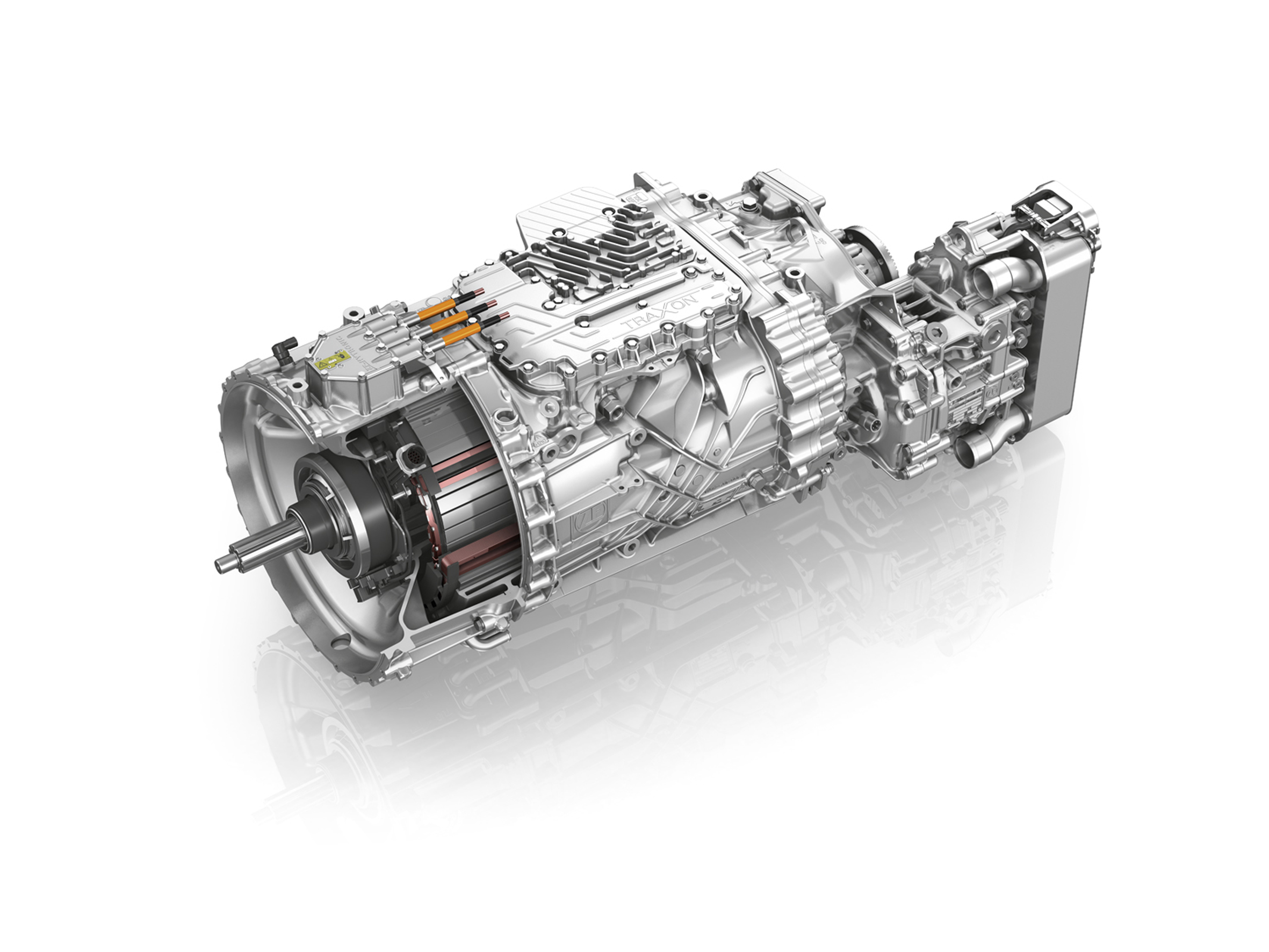 Zf demonstrates technological capabilities truck news for New motor and transmission