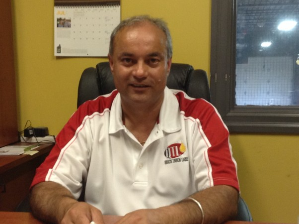 Gurjinder Johal Quick Truck Lube president