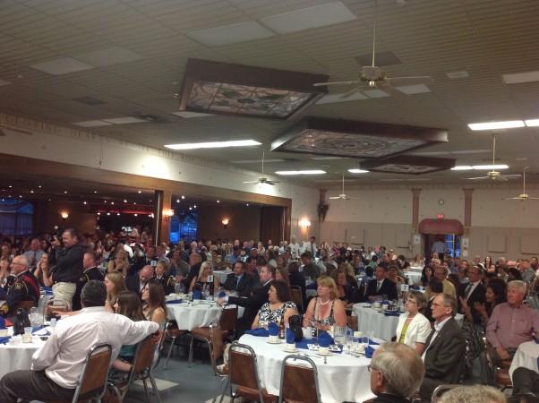 OTDC banquet crowd