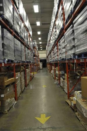 Warehouse full of stolen goods.