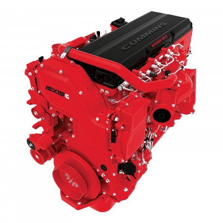 The Cummins ISX15 is produced at the company's Jamestown Engine Plant.