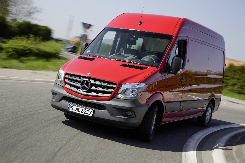 Mercedes benz bolsters commercial van lineup truck news for New mercedes benz commercial