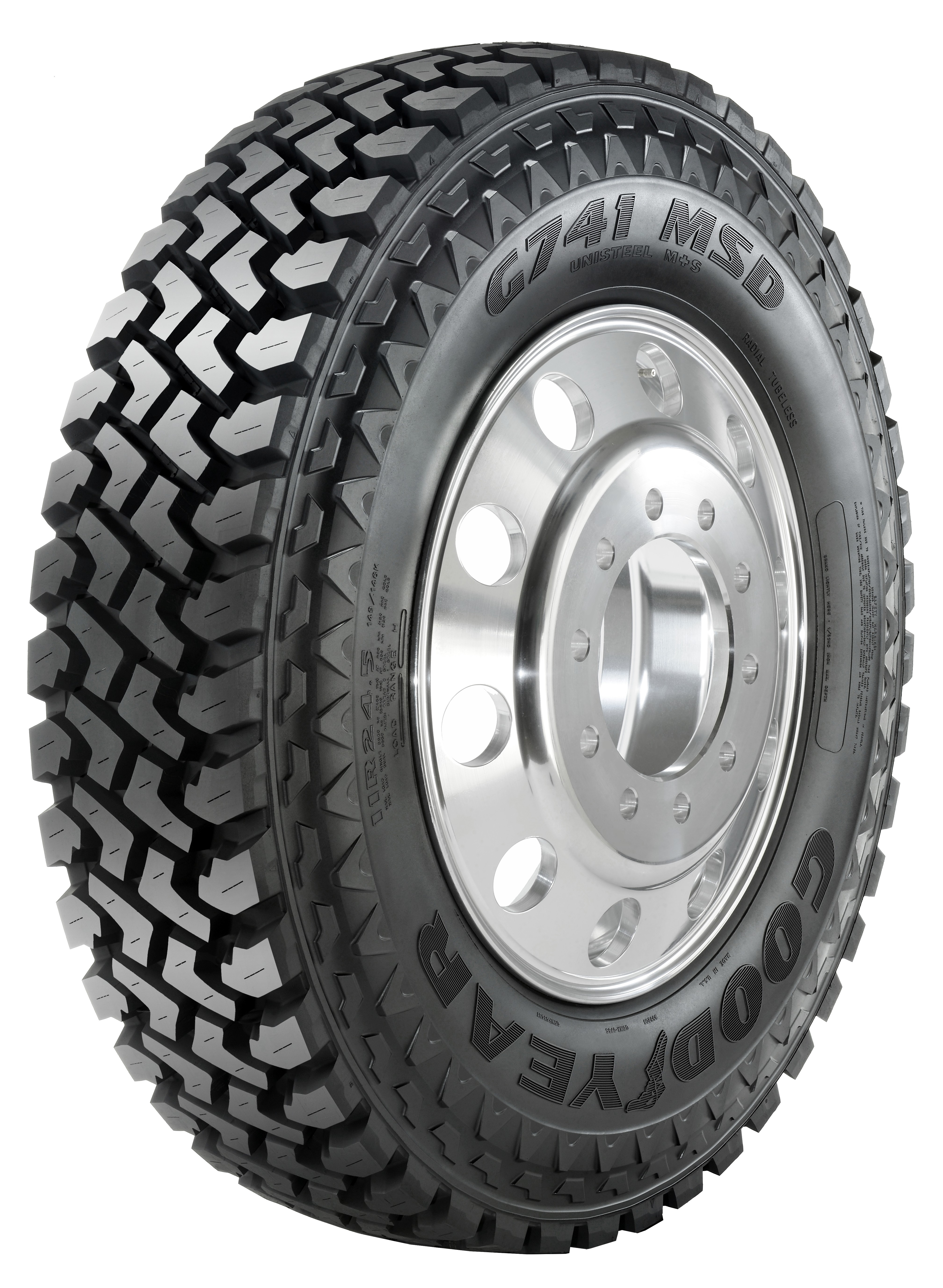 Goodyear Commercial Truck Tires image goodyear broadens g741 severe service tire line np goodyear 741
