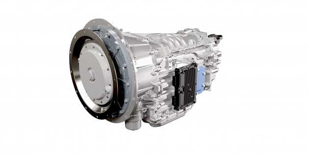 The Eaton Procision dual clutch transmission.