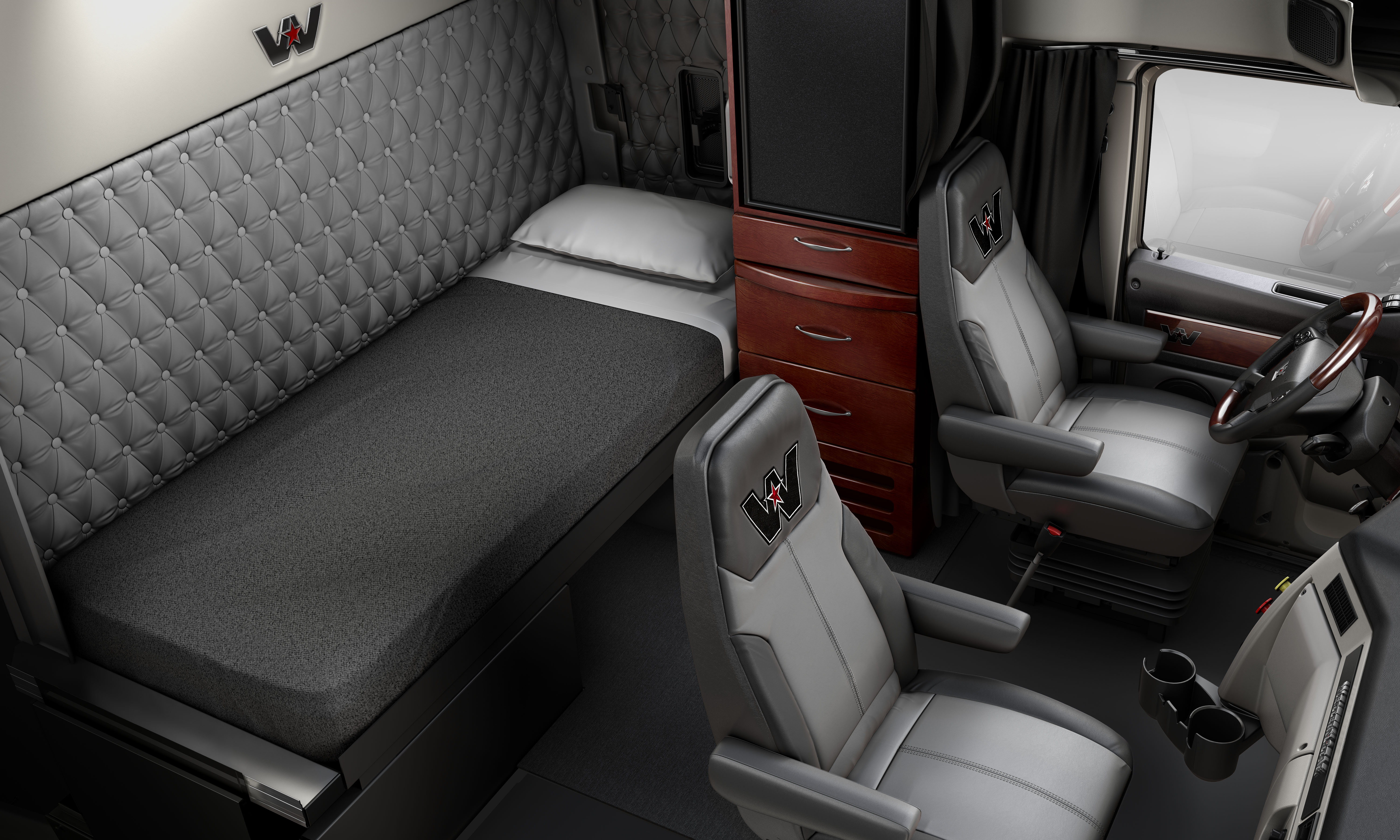 western star introduces new aerodynamic highway tractor truck news. Black Bedroom Furniture Sets. Home Design Ideas