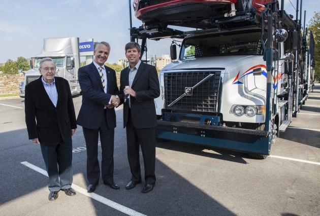 Volvo Trucks delivers 1,000th VAH model to Hansen & Adkins - Truck News