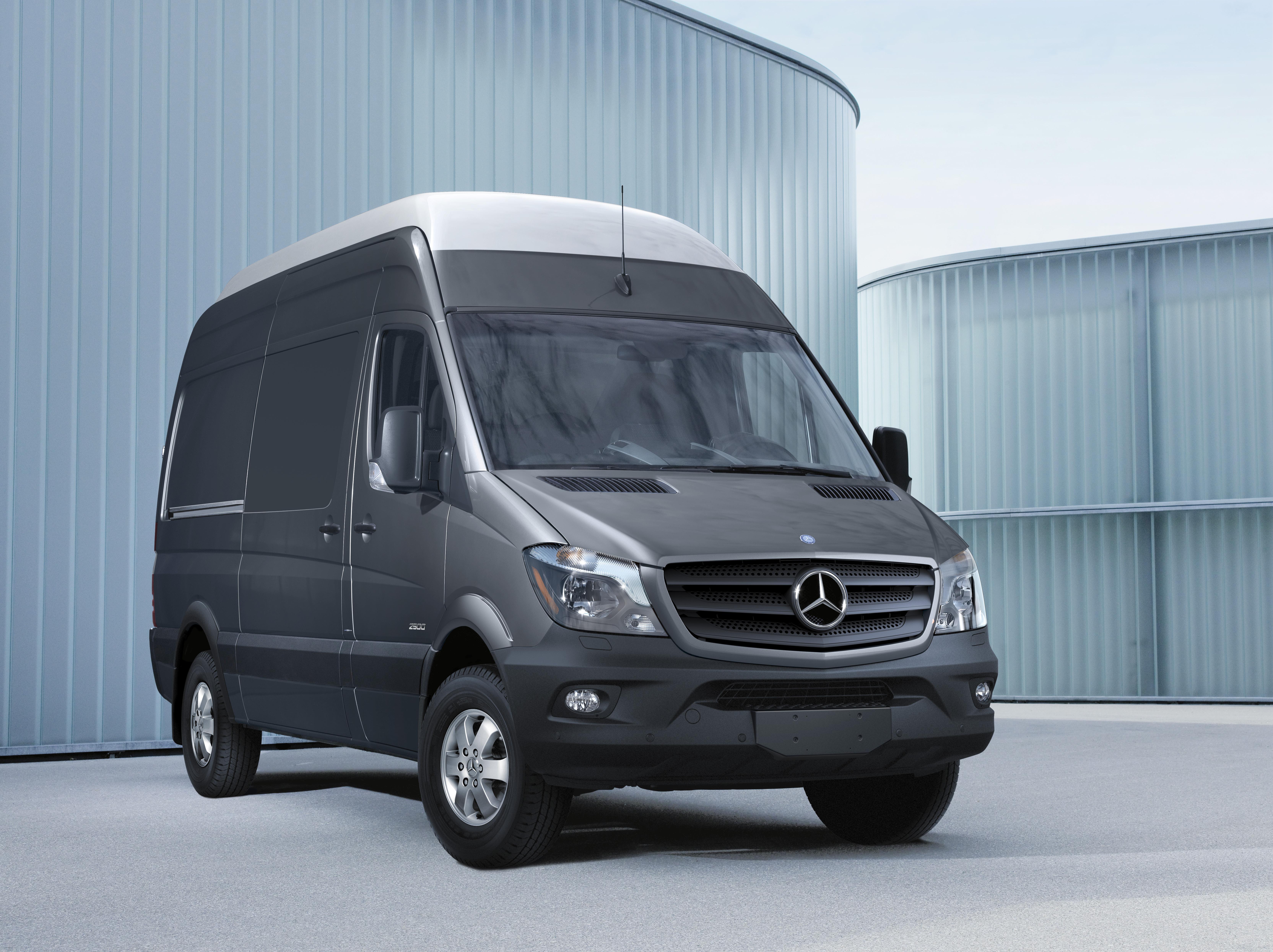 Mercedes Benz Debuts 4x4 Sprinter Crosswind Assist