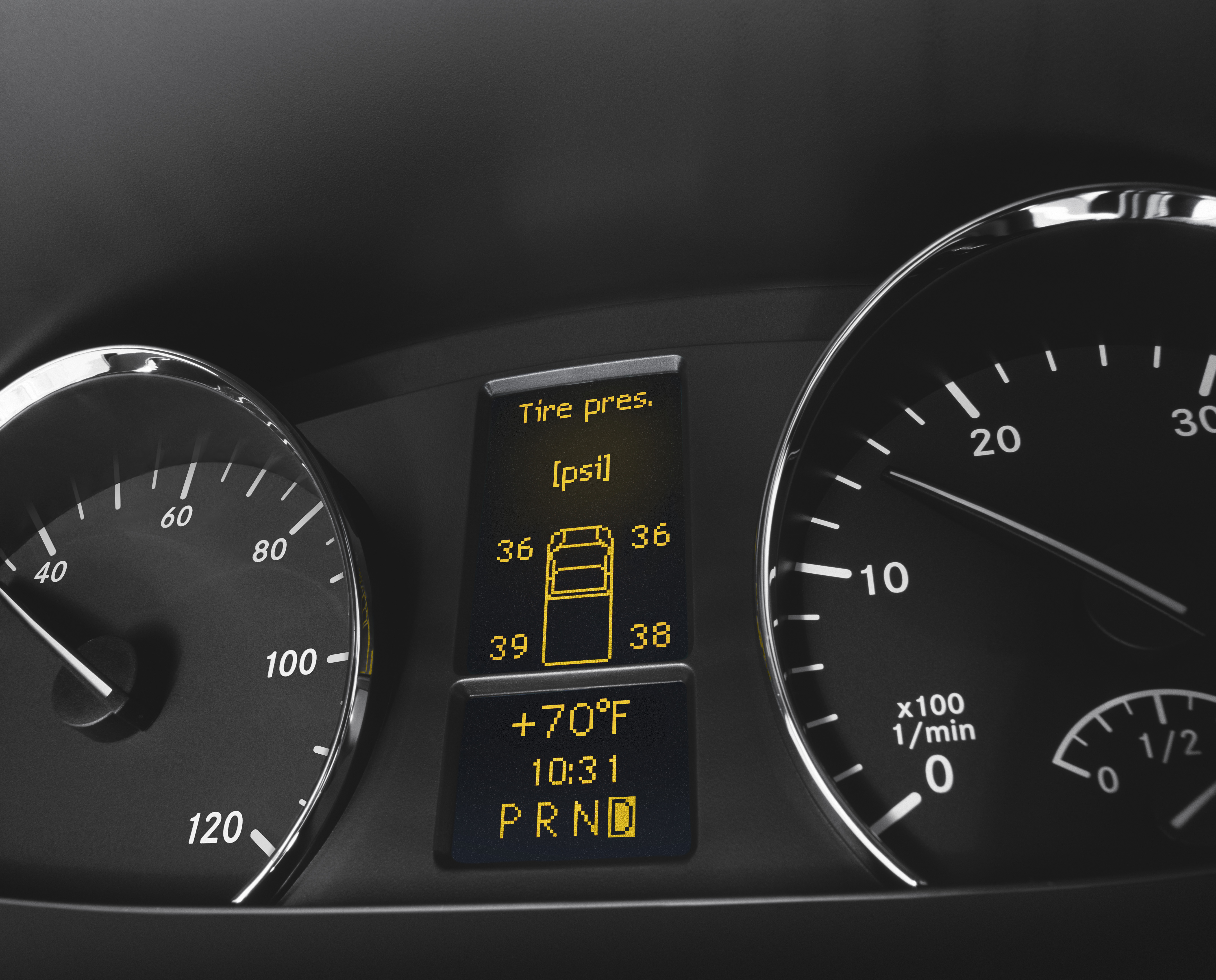 Tyre pressure for mercedes sprinter van for Mercedes benz c300 tire pressure