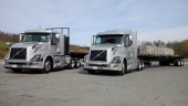 We drove these two 2016 model year Volvo VNs with XE-Adaptive Gearing - one empty and one loaded.