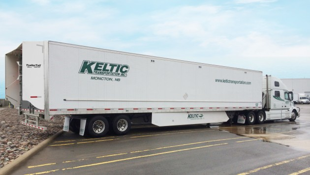 Keltic Transportation has purchased 90 ATDynamics Trailer Tails.