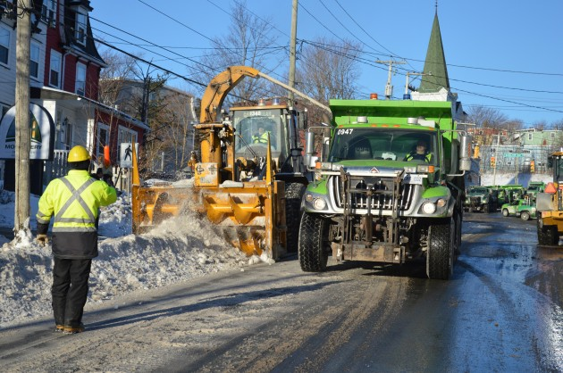 Maintenance on snow clearing equipment is handled in-house. (Photo: City of St. John's)