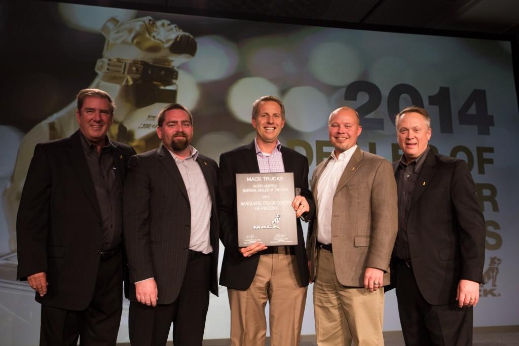 Mid-Ontario Mack named top Canadian Mack dealer - Truck News