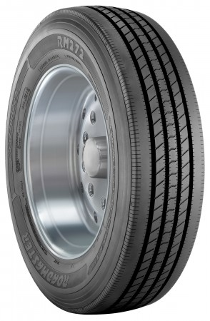 The RM272 all-position trailer tire from Roadmaster.