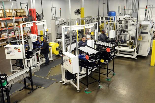 Gunite slack adjusters are built at Accuride's Rockford, Ill. facility.