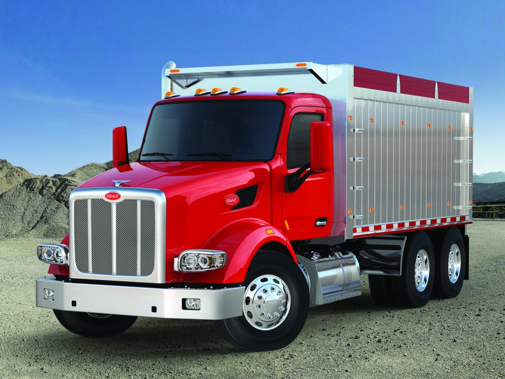 Peterbilt S Model 567 Available In All Wheel Drive Truck
