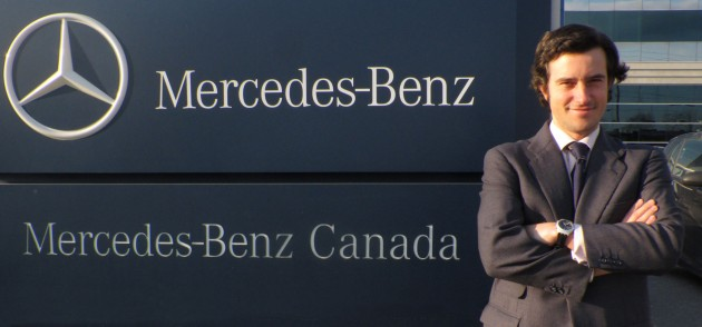 Pablo De La Pena, head of Mercedes-Benz's Canadian van operations.