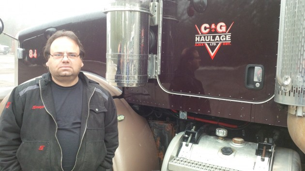 Frank Naccarato, fleet manager, C&G Haulage.