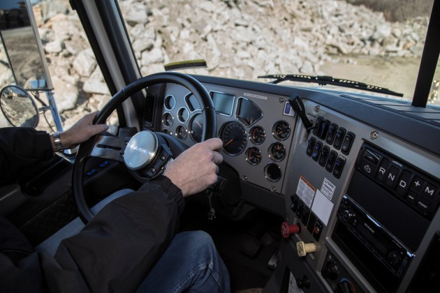 Mack Granite mDrive HD Cab Interior