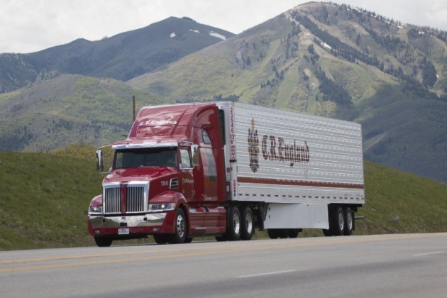 C.R. England Is First U.S. Carrier to Introduce Western Star 5700 XE Automated Shift Transmission Tractors into Fleet (PRNewsFoto/C.R. England, Inc.)