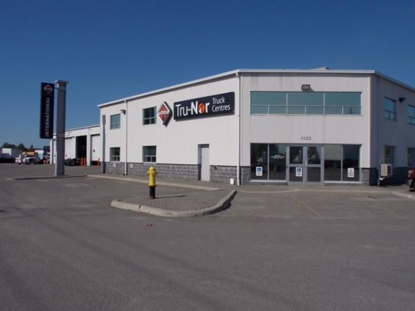 The Sudbury Tru-Nor Truck Centres International dealership.