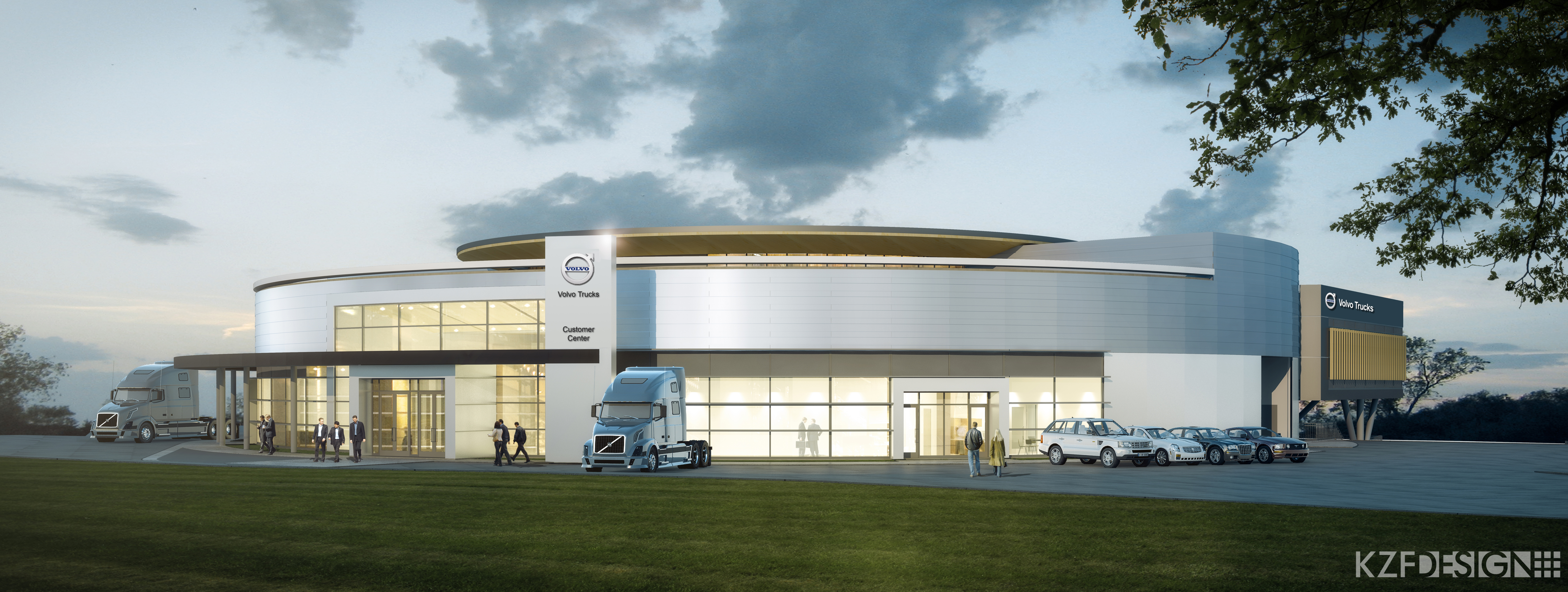 Volvo breaks ground on new Customer Experience Center at Virginia plant - Truck News
