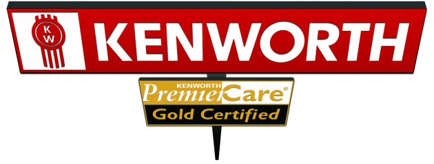 Kenworth PremierCare Gold Certified Sign